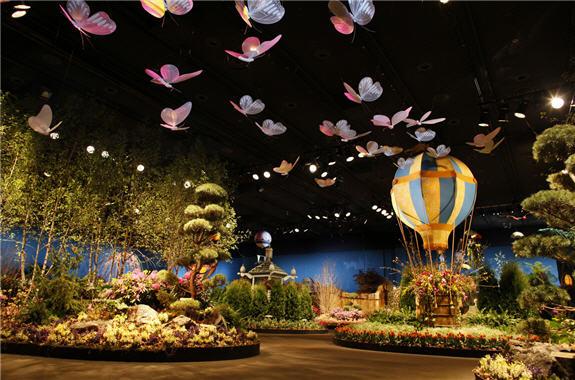 macy's flower show, macy's flower show san francisco, san francisco macy's flower show, macys flower show