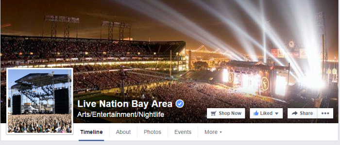 Live Nation Bay Area